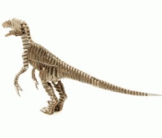 Paper Dinosaur For Laser Cut Free CDR Vectors Art