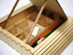 Pen Case For Kids For Laser Cut Cnc Free CDR Vectors Art