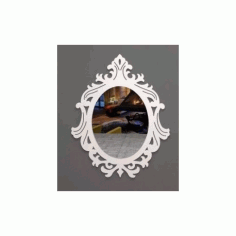 Ayna 0003 Mirror Art Free DXF File