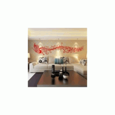 Decor Wall Free DXF File