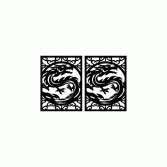 Drakonchik Dragon Free DXF File