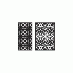 Jali Pattern Design Decor 25 Free DXF File