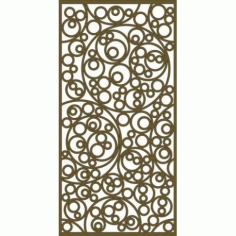Jali Pattern Design Decor 555 Free DXF File