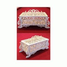 Jewelry Box Pair Free DXF File
