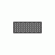 Pattern Design 554 Free DXF File