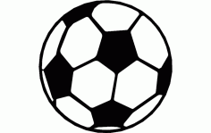 Soccer Ball Free DXF File