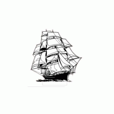 Ship 3d Led NightLight Free CDR Vectors Art