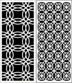 Design Pattern Panel Screen k58 For Laser Cut Cnc Free DXF File