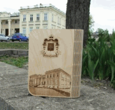 Wooden Book Box For Laser Cut Free DXF File