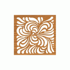 Laser Cut Cnc For Ornament Pattern Free DXF File