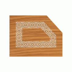 Laser Cut Cnc For Stairs Decoration Pattern Free DXF File