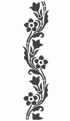 Laser Cut Frame Lace Border Patterns Free DXF File