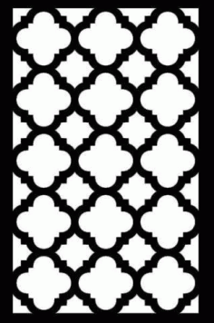 Laser Cut Grille Patterns Free DXF File
