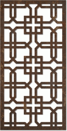 Laser Cut Interior Jali Design Pattern Free DXF File