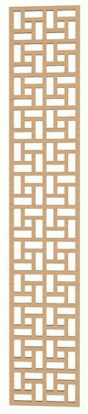 Laser Cut Lattice Geometric Pattern Free DXF File