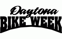 Daytona Bike Week Free DXF File