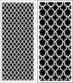 Design Pattern Panel Screen 062 For Laser Cut Cnc Free CDR Vectors Art