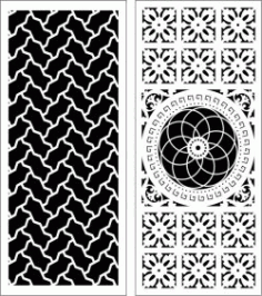 Design Pattern Panel Screen 063 For Laser Cut Cnc Free CDR Vectors Art