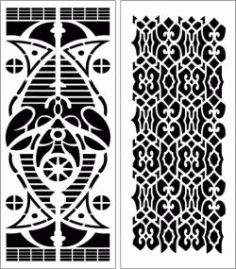Design Pattern Panel Screen 160 For Laser Cut Cnc Free CDR Vectors Art