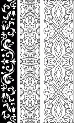 Design Pattern Woodcarving jjj For Laser Cut Cnc Free CDR Vectors Art