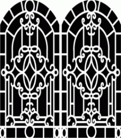 Design Pattern Woodcarving 657 For Laser Cut Cnc Free CDR Vectors Art