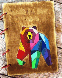 Bear Book For Laser Cut Free DXF File