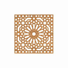 Cnc File Design For Ornamental Pattern Free DXF File