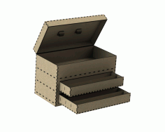 Cnc Laser Cut Tool Drawer Box Free DXF File