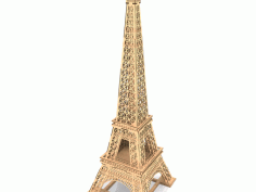 Eiffel Tower Lasercut Free CDR Vectors Art