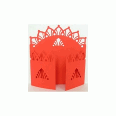 Gate Fold Card 11 Free DXF File