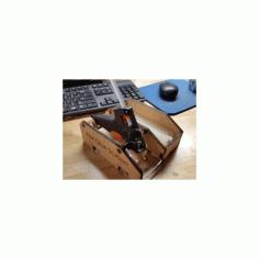 Hot Glue Gun Holder Free DXF File