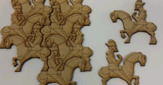 Horse Puzzle Laser Cut And Engraving Free CDR Vectors Art