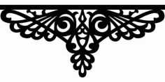 Laser Cut 2d Decor Free DXF File