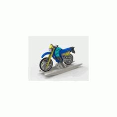 Moto Tenere xt600 Free DXF File
