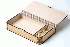 Cnc Laser Cut Design Wooden Box Free CDR Vectors Art