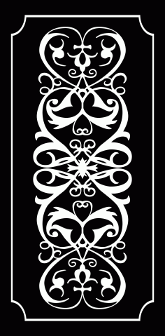 Panel Decor 1176 Free DXF File