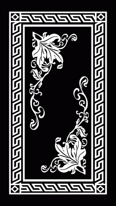 Panel Decor 1177 Free DXF File