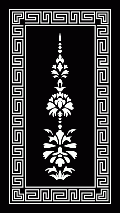 Panel Decor 1178 Free DXF File