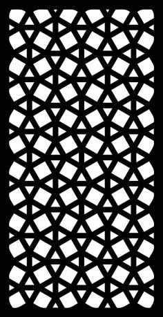 Panel Decor Rectangle 0018 Free DXF File