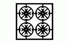Pattern 1e Free DXF File