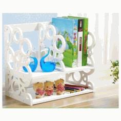 Lasercut Wooden Books Shelf Template Free DXF File