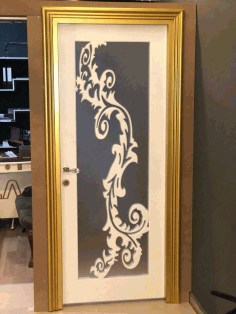 Mdf Door Panel Design Decor s2 Free DXF File