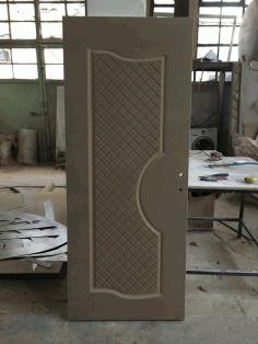 Mdf Door Panel Engraved Design s3 Free DXF File