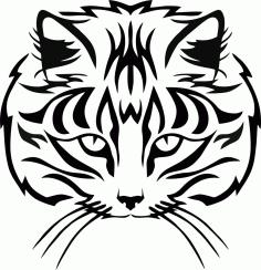 Animal Silhouette Cat Free CDR Vectors Art