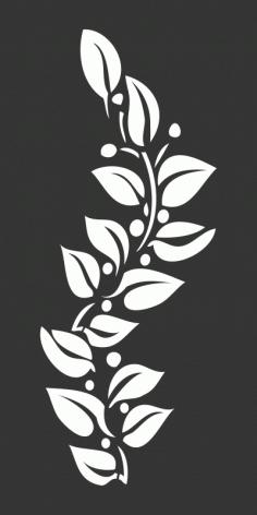 Flower Motif Free CDR Vectors Art