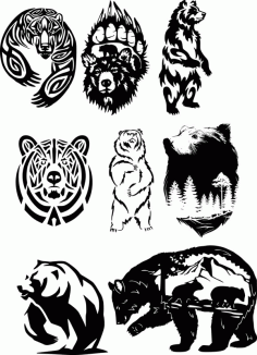 Wildlife Animals Free CDR Vectors Art