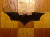 Batarang Made At Hexlab Makerspace Laser Cut Design Template Free DXF File