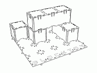 Block Toy Ls Laser Cut Design Template Free DXF File