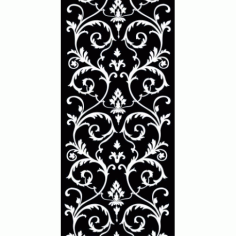 Jali Pattern Design Decor h4 Free DXF File