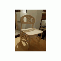 Plywood Children Chair 3d Puzzle Free DXF File